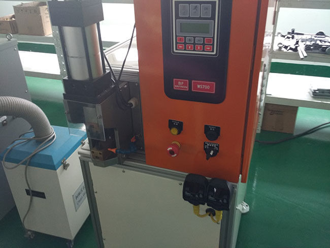 Welding Copper Wire Electric Motor Winding Equipment  For Mixer Motor