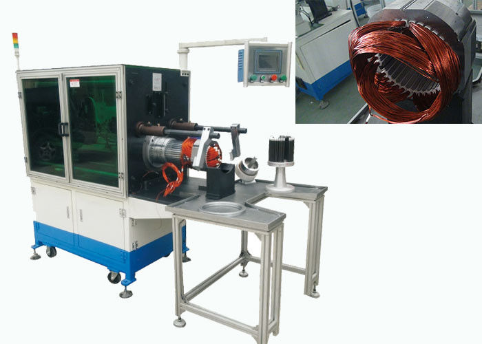 Horizontal Type Stator Winding Inserting Machine For Big Electric Motors