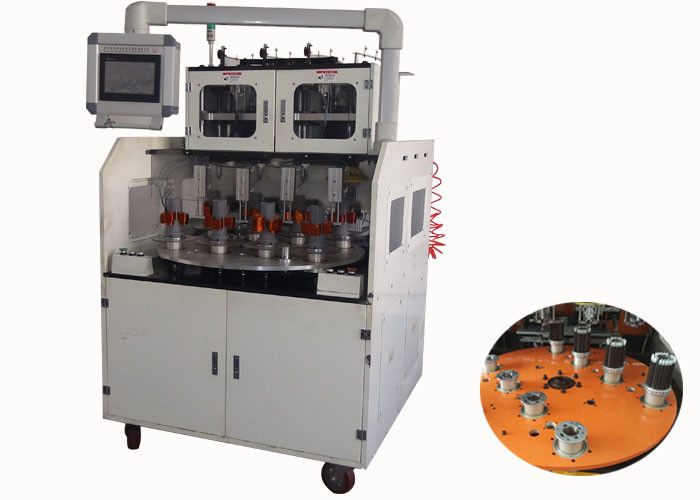 Four Heads Full Automatic Stator Winding Machine CNC Displayer 0.2 -1.0 MM Wire Diameter