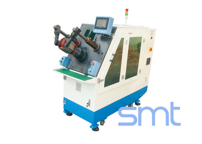 Aluminum Wire Coil Induction Motor Winding Machine For Induction / Washing Machine Motor Stator